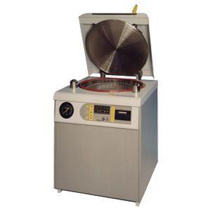 Laboratory autoclave / vertical / microprocessor controlled / automatic 100 L Priorclave