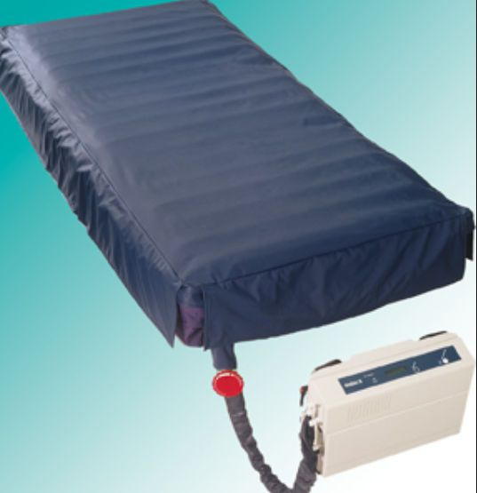 Hospital bed mattress / anti-decubitus / dynamic air / tube NoDec E Rober