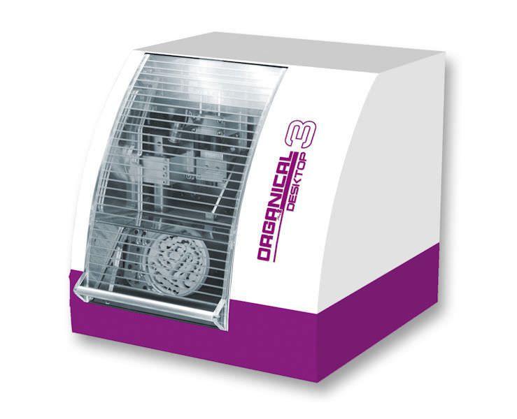 Dental milling machine / bench-top / 4-axis Organical Desktop 3 R+K CAD/CAM Technologie GmbH & Co. KG
