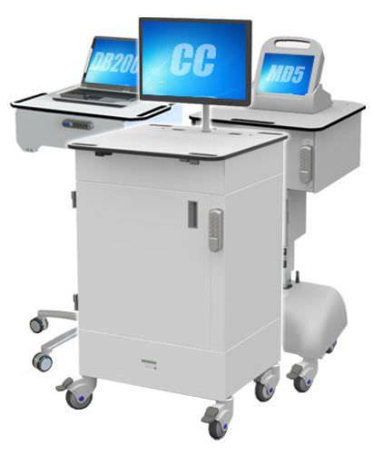 Medical computer cart RDP Health