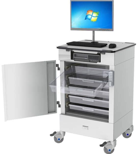 Cart with drawer / 1-door CC RDP Health