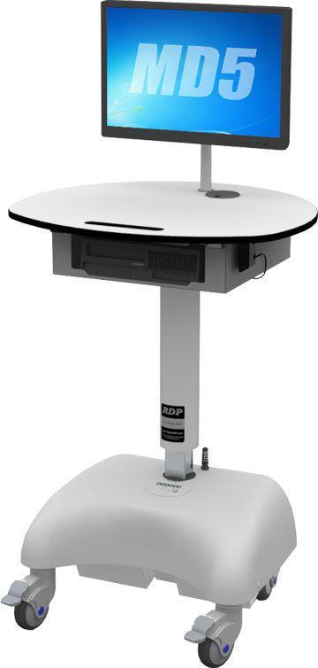 Height-adjustable computer cart / medical MD5 RDP Health