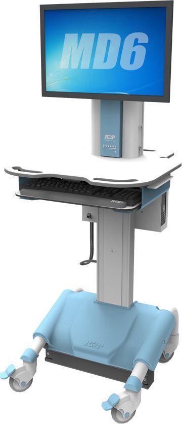 Medical computer cart / height-adjustable MD6 RDP Health