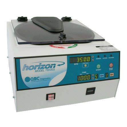 Laboratory centrifuge / bench-top QBC Horizon 755VES QBC Diagnostics