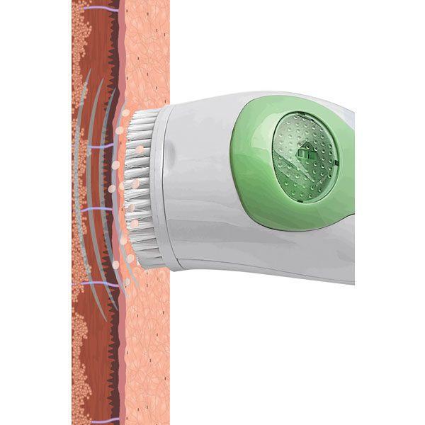 Hand-held dermabrasion system OxySonic Facial Brush Pretika