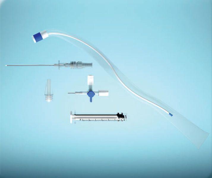 Pleural puncture needle PLEUROCATH® Guibout PRODIMED - PLASTIMED