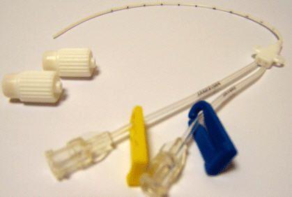 Central venous catheter / double-lumen / neonatal OMBILICATH® PRODIMED - PLASTIMED