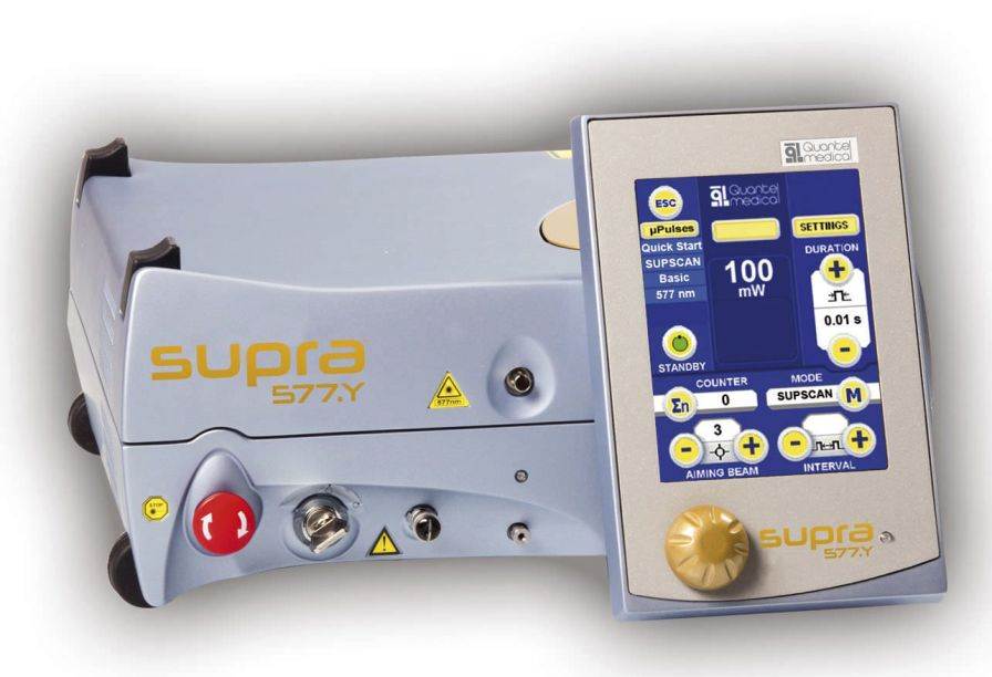 Ophthalmic laser / for retinal photocoagulation / solid-state / tabletop SUPRA SCAN 577 Quantel Medical
