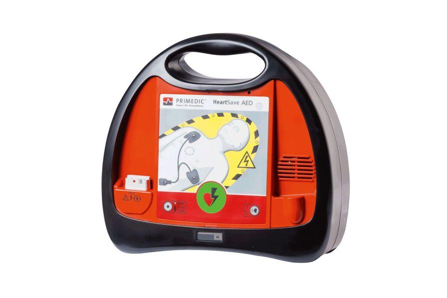 Automatic external defibrillator / public access PRIMEDIC™ HeartSave AED Primedic