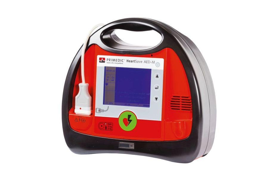 Automatic external defibrillator / with ECG monitor / public access PRIMEDIC™ HeartSave AED-M Primedic