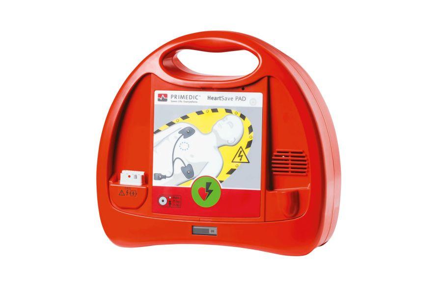 Automatic external defibrillator / public access PRIMEDIC™ HeartSave PAD Primedic