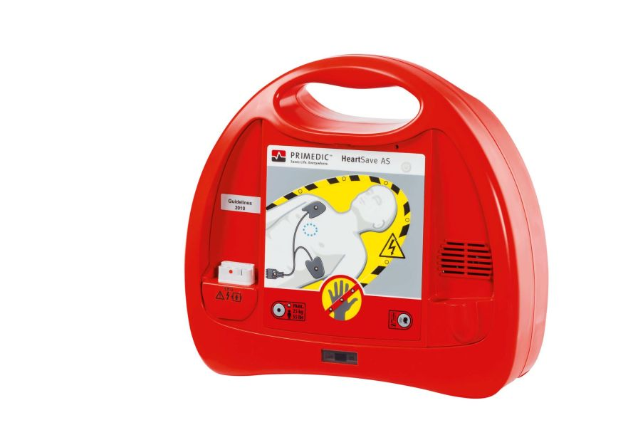 Automatic external defibrillator / public access PRIMEDIC™ Heart Save AS Primedic