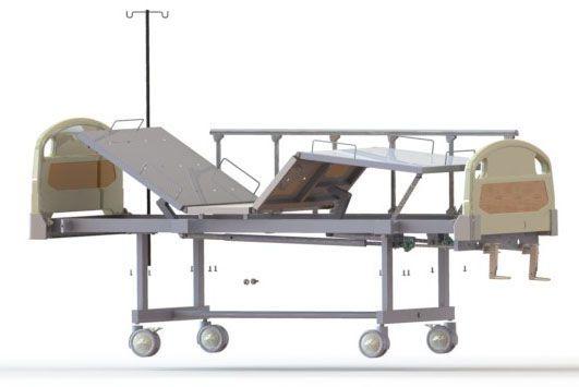 Mechanical bed / height-adjustable / on casters / 4 sections Dream M2 BKR PT. FYROM INTERNATIONAL