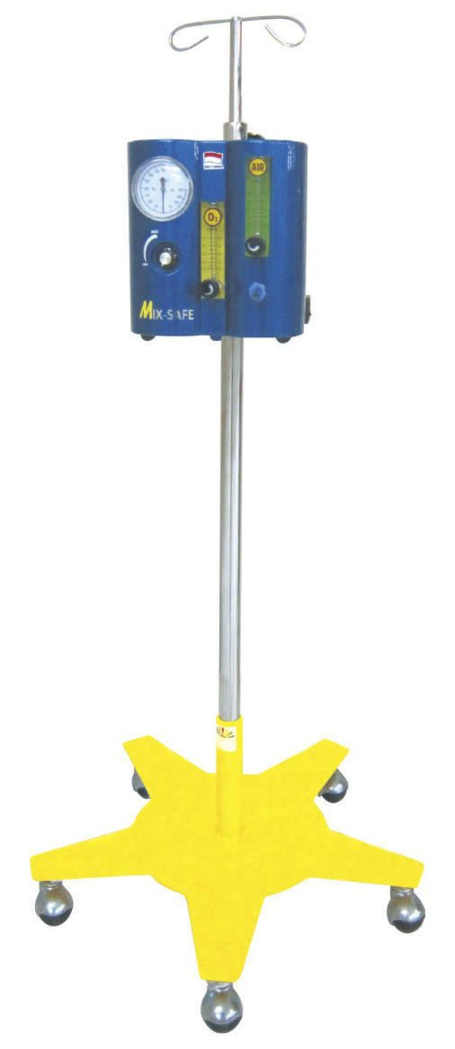 Respiratory gas blender / O2 / air / with tube flow meter Mix Safe PT. FYROM INTERNATIONAL