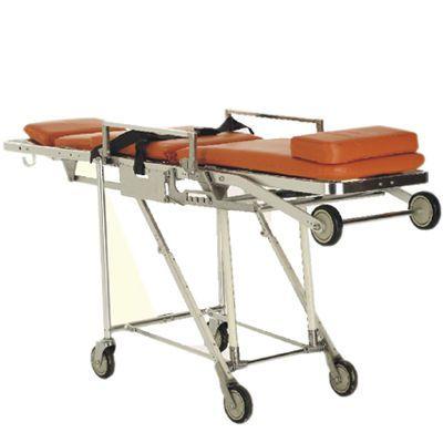 Emergency stretcher trolley / self-loading / height-adjustable / mechanical SS PT. FYROM INTERNATIONAL