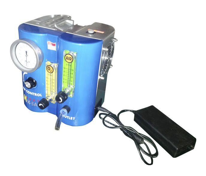 Respiratory gas blender / O2 / air / with tube flow meter Mix Safe Forte PT. FYROM INTERNATIONAL