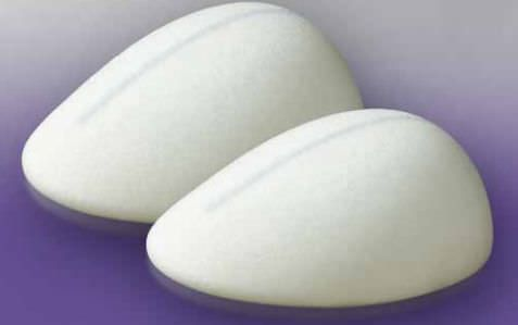 Breast cosmetic implant / anatomical / silicone DiagonGel® 4Two AR Polytech Health & Aesthetics