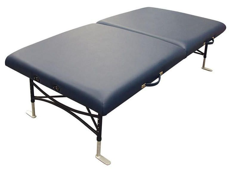 Manual massage table / height-adjustable / portable / folding Storable Mat -40 Oakworks Massage