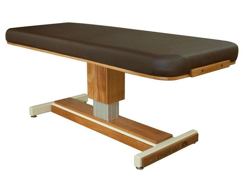 Electric spa table / height-adjustable / 1 section Marina Oakworks Massage