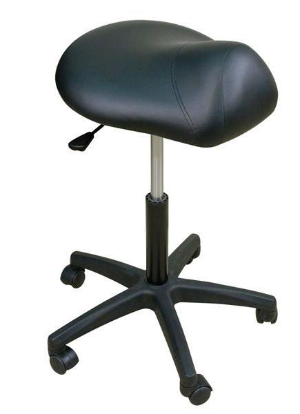 Medical stool / pneumatic / height-adjustable / on casters STSD19TTBS Oakworks Massage