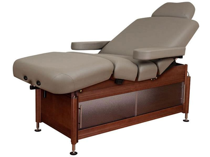 Hydraulic spa table / manual / height-adjustable / 4 sections Clinician™ Oakworks Massage