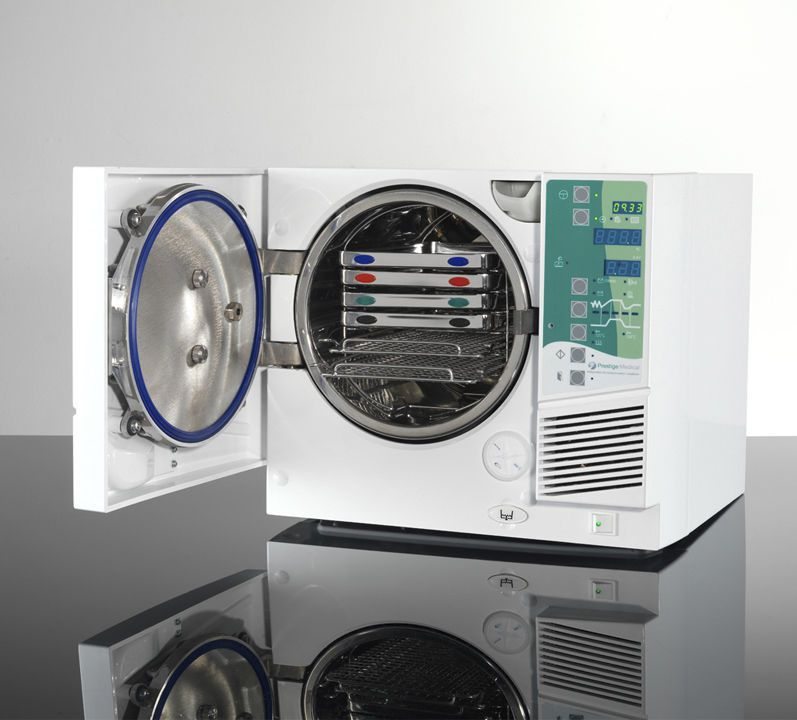 Medical autoclave / bench-top / with fractionated vacuum 16 - 22 L   Advance B Prestige Medical Limited