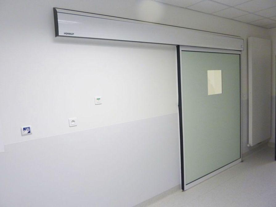 Hospital door / laboratory / sliding / automatic HDS CLEAN PORTALP INTERNATIONAL