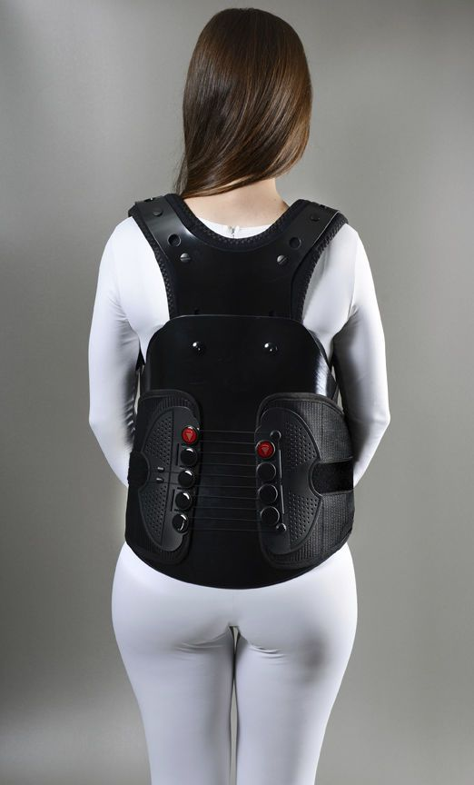 Thoracolumbosacral (TLSO) support corset / with sternal pad VENUM®1 Optec USA