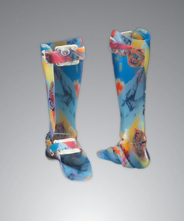 Ankle and foot orthosis (AFO) (orthopedic immobilization) / articulated / pediatric Custom Optec USA