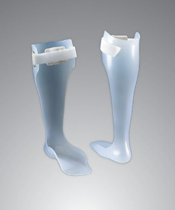 Ankle and foot orthosis (AFO) (orthopedic immobilization) Custom Semi-Rigid Optec USA