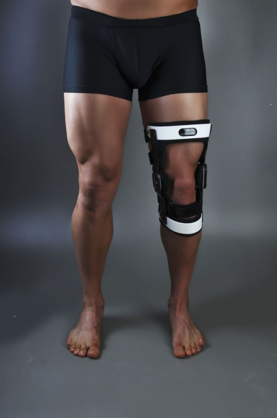 Knee orthosis (orthopedic immobilization) / patella stabilisation / knee ligaments stabilisation / articulated Gladiator ACL MAX Optec USA
