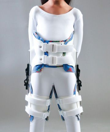 Hip orthosis (orthopedic immobilization) / legs abduction / articulated / pediatric Custom Mini-TLC Optec USA