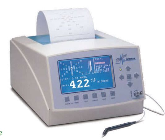 Pachymeter (ophthalmic examination) / ultrasound pachymetry PACLINE OPTIKON