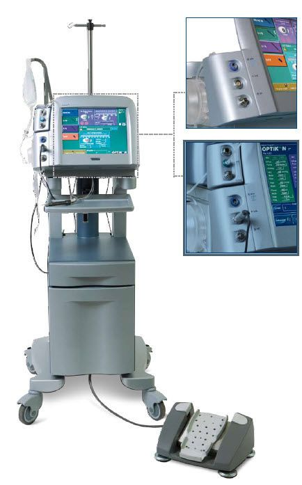 Phacoemulsifier (ophthalmic surgery) / vitrectome / aspiration pump for crystalline residue Pulsar² ESP OPTIKON