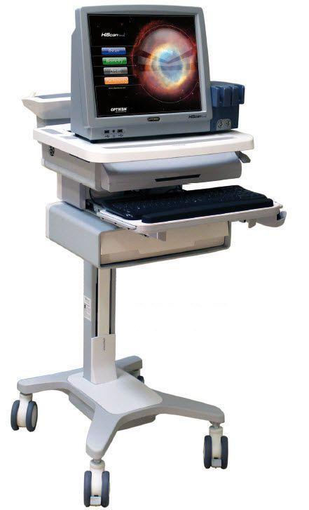 Ultrasound system / on platform / for ophthalmic ultrasound imaging HISCAN OPTIKON