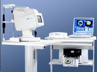 Corneal topograph (ophthalmic examination) / pupil meter Keratron OPTIKON