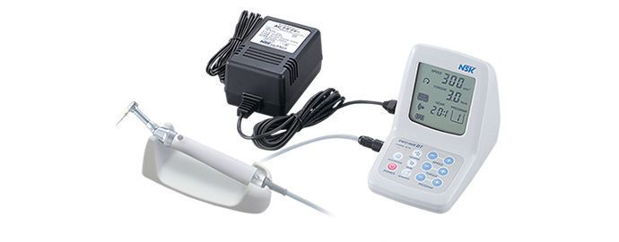 Endodontic micromotor control unit / pedal-operated / complete set / with handpiece ENDO-MATE DT NSK France