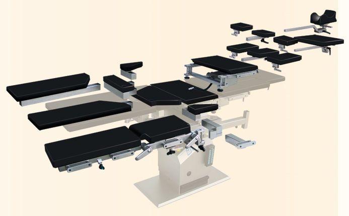 Orthopedic operating table top / transfer / modular NUOVA BN