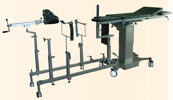 Modular operating table top / X-ray transparent GS HV NUOVA BN