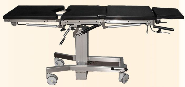 Transport stretcher trolley / mechanical / hydraulic / 4-section Solaris NUOVA BN