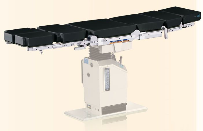 Modular operating table top / universal / 6 sections / X-ray transparent MODULO NUOVA BN