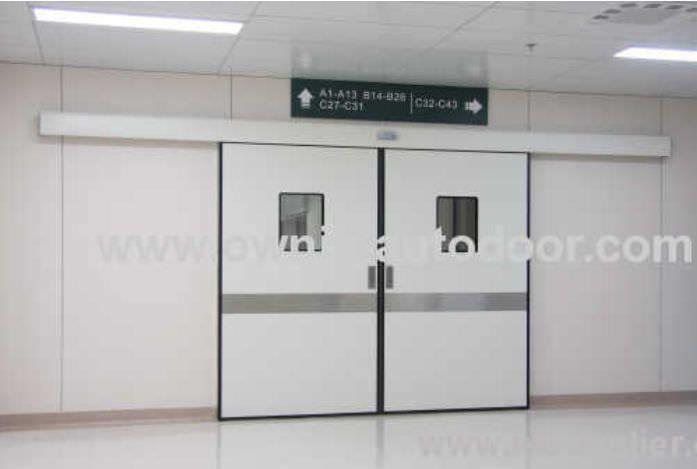 Hospital door / sliding / hermetic / stainless steel ETDMN OWNIC