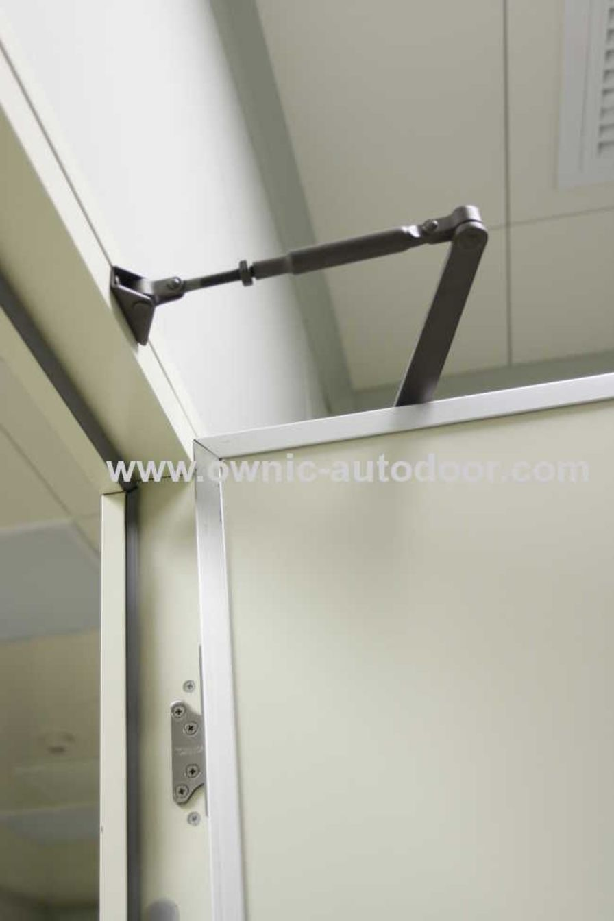 Automatic door / swinging / stainless steel QTDM OWNIC
