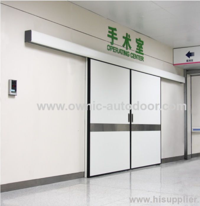 Hospital door / automatic / sliding / aluminum ETDMN OWNIC