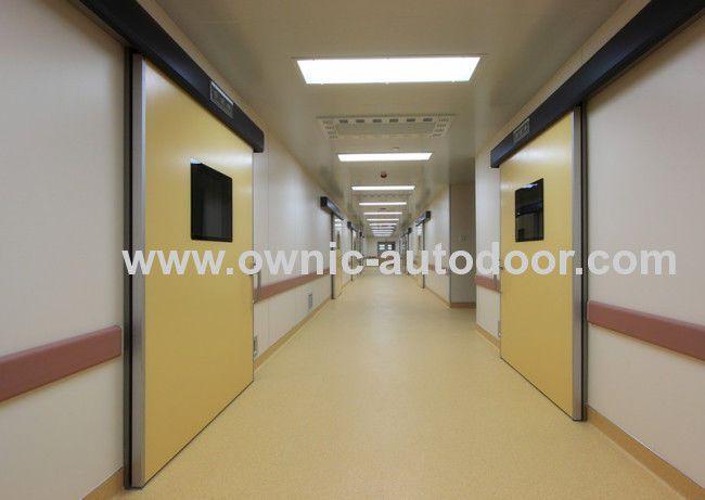 Hospital door / sliding / hermetic / stainless steel DMH01 OWNIC