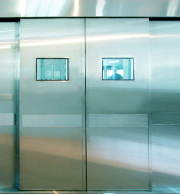 Hospital double door / laboratory / sliding / automatic QTDMW OWNIC