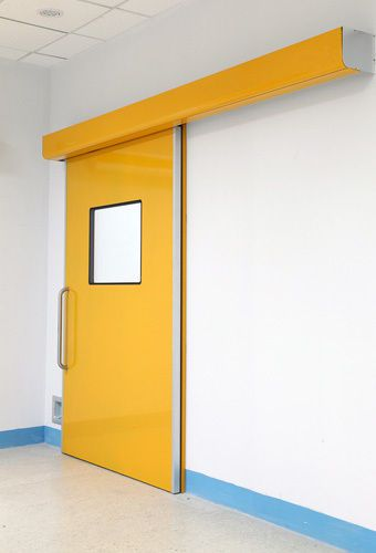 Hospital door / laboratory / automatic / sliding OWNIC