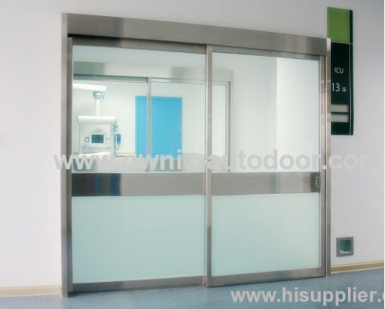 Hospital door / sliding / automatic / glass QTDM OWNIC