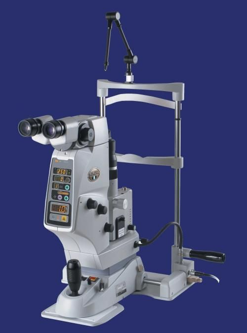 Iridotomy laser / for posterior capsulotomy / ophthalmic / Nd:YAG YC-1800 NIDEK