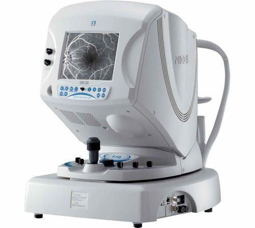 SLO ophthalmoscope (ophthalmic examination) F-10 NIDEK